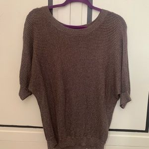 Sparkly Brown Sweater